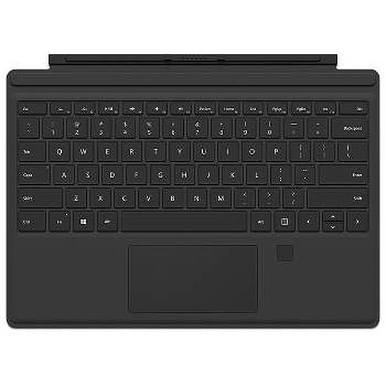 Accessoires tablette tactile Microsoft Type Cover Fingerprint pour Surface Pro - noir