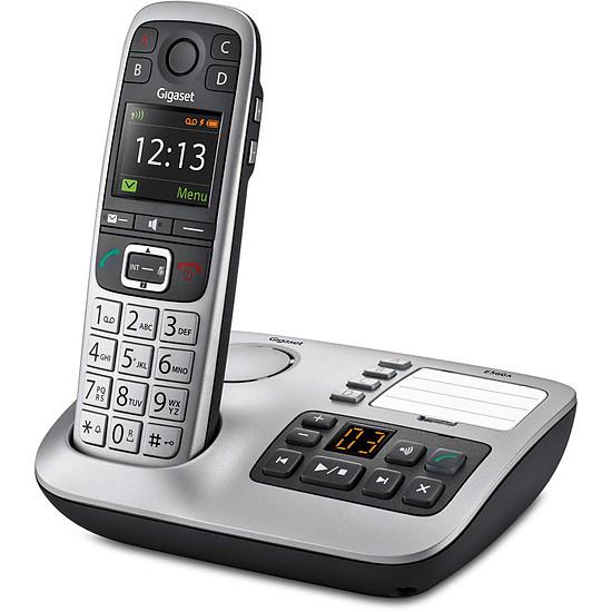 Téléphone fixe sans fil Gigaset E560 A (argent) - Autre vue