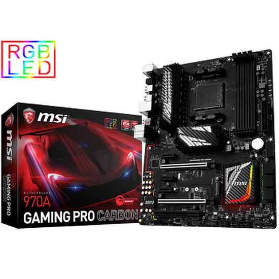 Carte mère MSI 970A GAMING PRO CARBON