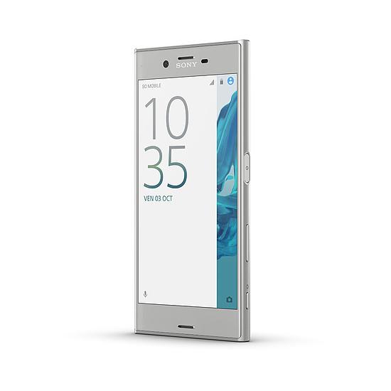 Smartphone et téléphone mobile Sony Xperia XZ (argent) - Simple SIM