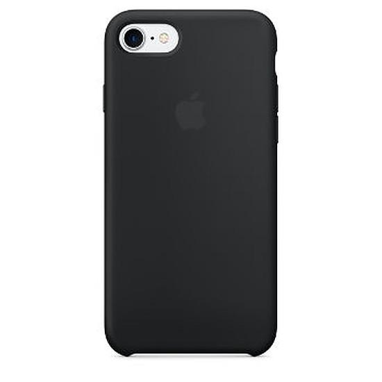 Coque et housse Apple Coque silicone (noir) - iPhone 7