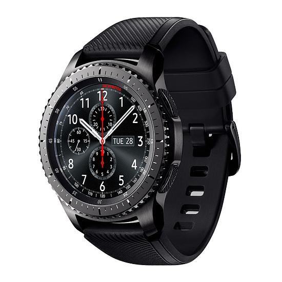 Montre connectée Samsung Gear S3 Frontier (noir - noir) - GPS - 46 mm