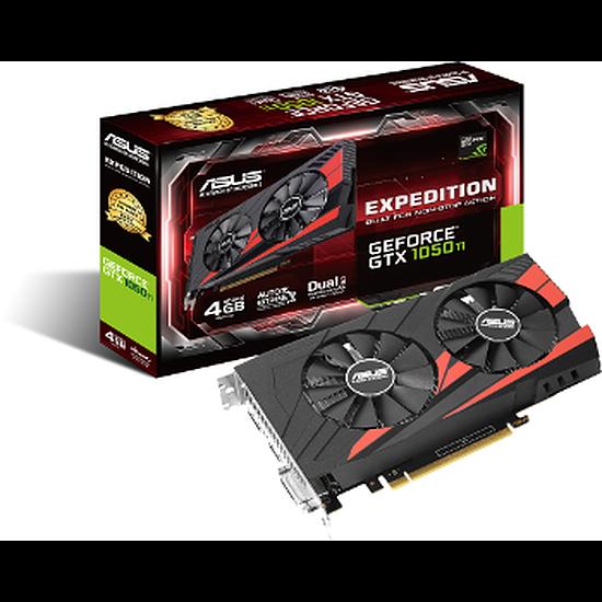 Carte graphique Asus GeForce GTX 1050 Ti eSports - 4 Go