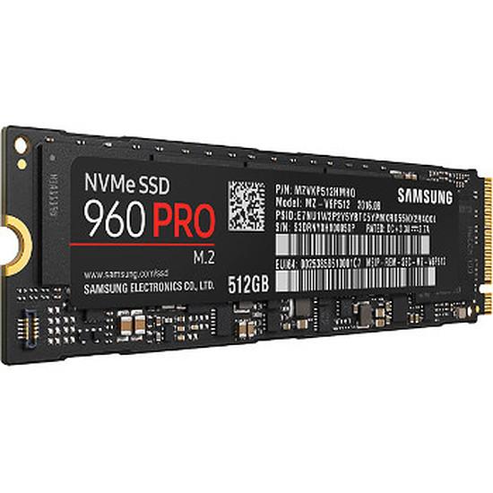 Disque SSD Samsung Serie 960 PRO M.2 PCIe NVMe - 512 Go