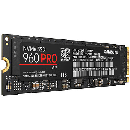 Disque SSD Samsung Serie 960 PRO M.2 PCIe NVMe - 1 To
