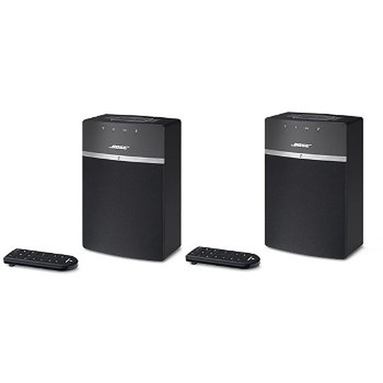 Système Audio Multiroom Bose Pack Duo Système audio Wi-Fi SoundTouch 10 Noir