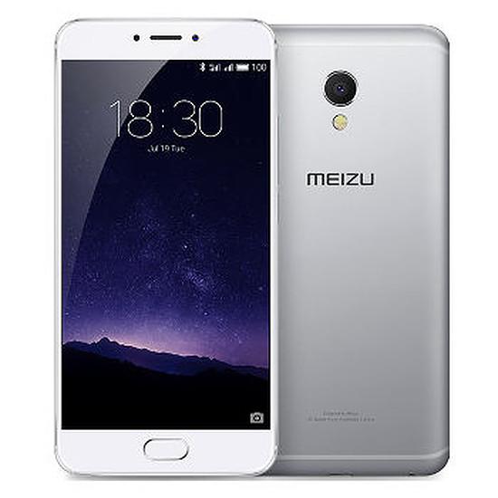 Smartphone et téléphone mobile Meizu MX6 - 32 Go (argent)