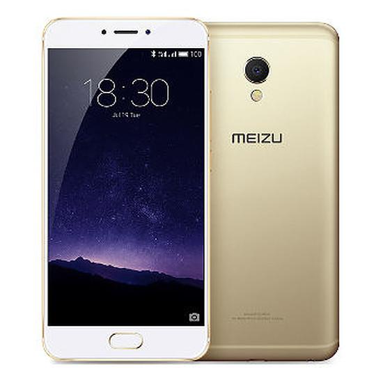 Smartphone et téléphone mobile Meizu MX6 - 32 Go (or)