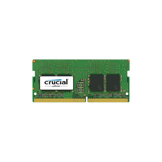 Mémoire Crucial 8 Go (1 x 8 Go) DDR4 2400 MHz CL17 SR SO-DIMM