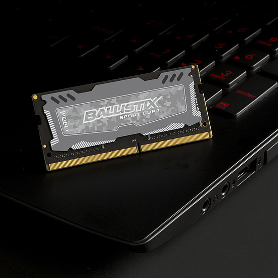Mémoire Ballistix SO-DIMM Sport LT DDR4 16 Go 2400 MHz - Autre vue