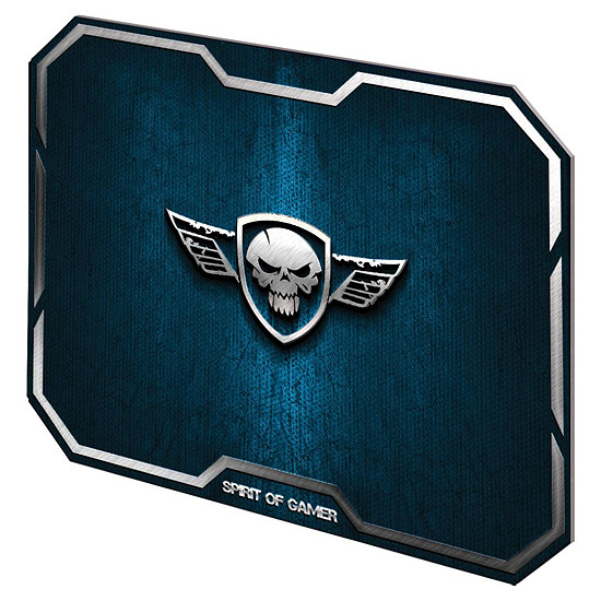 Tapis de souris Spirit Of Gamer Winged Skull - Bleu