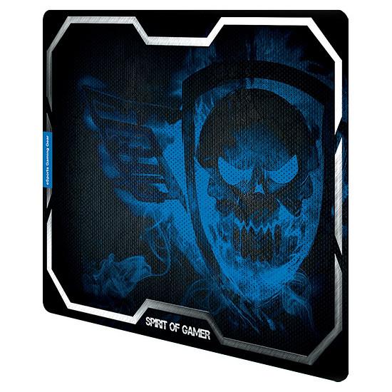Tapis de souris Spirit Of Gamer Smokey Skull - Bleu