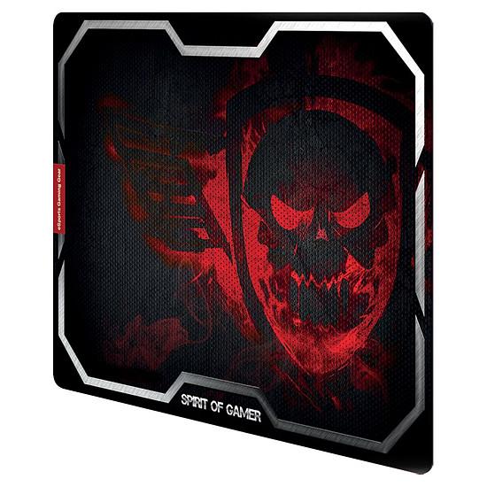 Tapis de souris Spirit Of Gamer Smokey Skull - Rouge