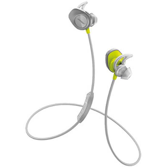Casque Audio Bose SoundSport Wireless Citron - Ecouteurs sans fil
