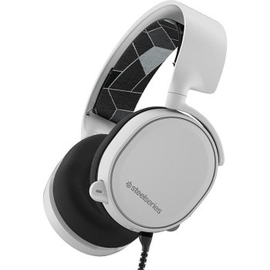 Casque micro SteelSeries Arctis 3 - Blanc