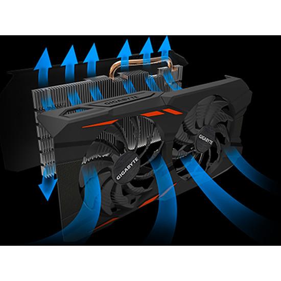 Carte graphique Gigabyte GeForce GTX 1050 Ti Windforce OC - 4 Go - Autre vue