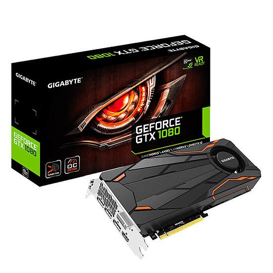 Carte graphique Gigabyte GeForce GTX 1080 Turbo OC - 8 Go