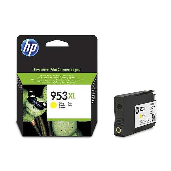 Cartouche imprimante HP Cartouche d'encre n°953XL (F6U18AE) - Jaune - Autre vue