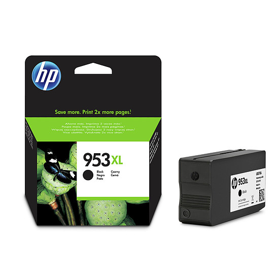 Cartouche imprimante HP Cartouche d'encre n°953XL (L0S70AE) - Noir