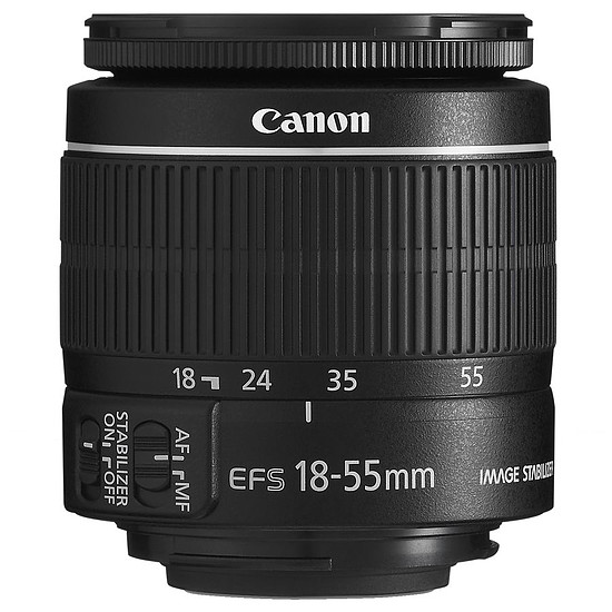 Objectif pour appareil photo Canon EF-S 18-55mm f/3.5-5.6 IS II