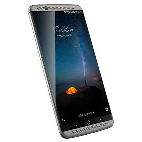Smartphone et téléphone mobile ZTE Axon 7 (gris)