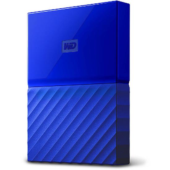 Disque dur externe Western Digital (WD) My Passport USB 3.0 - 4 To (bleu)