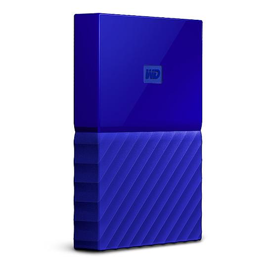 Disque dur externe Western Digital (WD) My Passport USB 3.0 - 4 To (bleu) - Autre vue