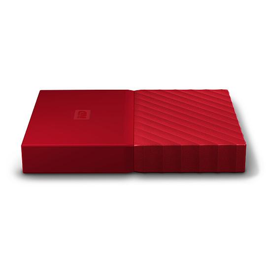 Disque dur externe Western Digital (WD) My Passport USB 3.0 - 4 To (rouge) - Autre vue