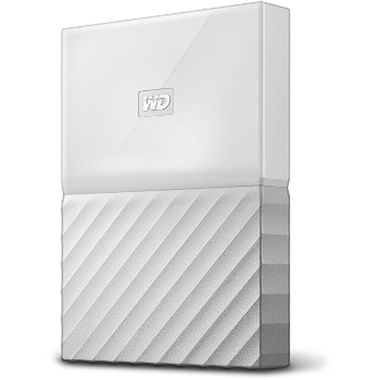 Disque dur externe Western Digital (WD) My Passport USB 3.0 - 4 To (blanc)