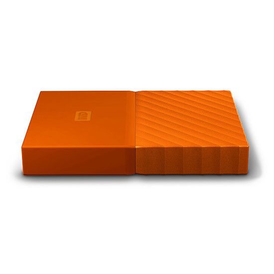 Disque dur externe Western Digital (WD) My Passport USB 3.0 - 4 To (orange) - Autre vue
