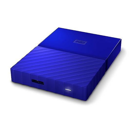 Disque dur externe Western Digital (WD) My Passport USB 3.0 - 3 To (bleu) - Autre vue