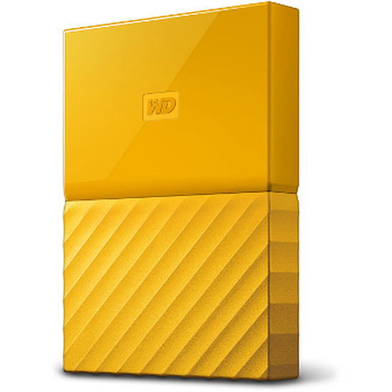 Disque dur externe Western Digital (WD) My Passport USB 3.0 - 2 To (jaune)
