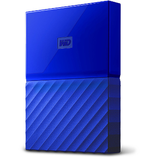 Disque dur externe Western Digital (WD) My Passport USB 3.0 - 1 To (bleu)