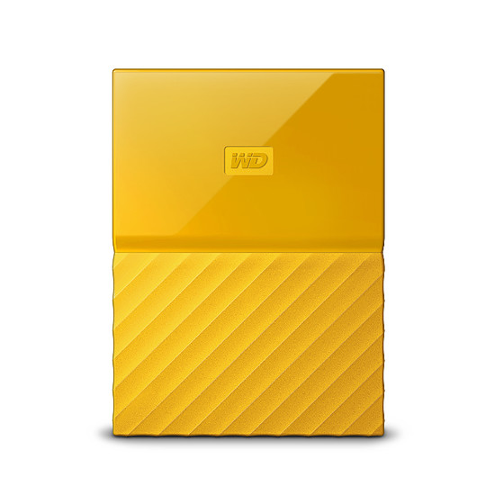 Disque dur externe Western Digital (WD) My Passport USB 3.0 - 1 To (jaune) - Autre vue