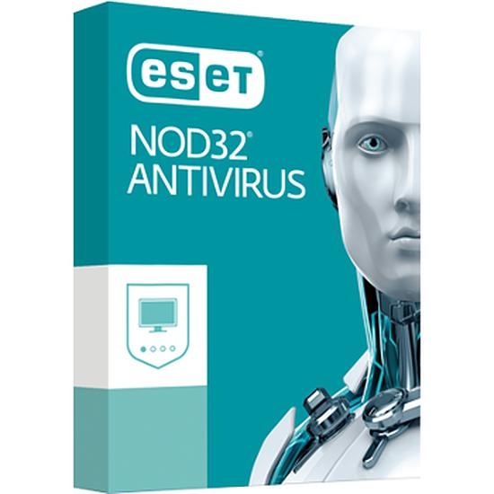 Antivirus et sécurité ESET NOD32 Antivirus Edition 2017 (1 an - 1 poste)