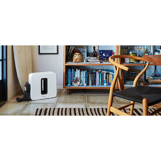 Système Audio Multiroom Sonos Subwoofer Sub - Blanc - Autre vue