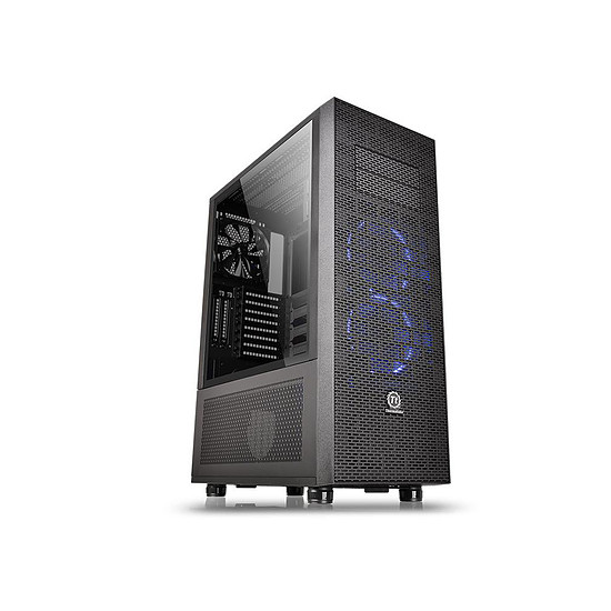 Boîtier PC Thermaltake Core X71 Noir Tempered Glass Edition