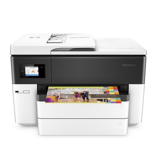 Imprimante multifonction HP Officejet 7740 - A3 - Autre vue