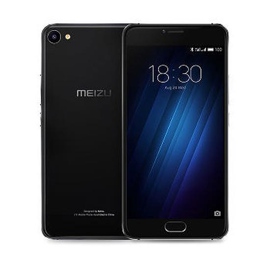Smartphone et téléphone mobile Meizu U10 32 Go (noir)