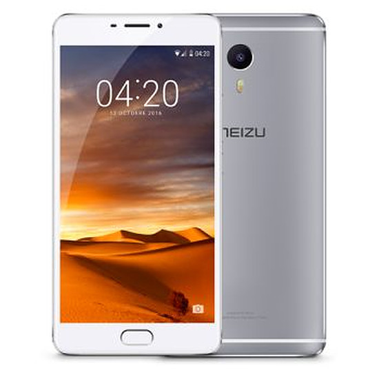 Smartphone et téléphone mobile Meizu M3 Max (argent) - 64 Go