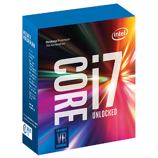 Processeur Intel Core i7 7700K (4,2 GHz)