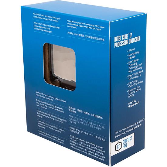 Processeur Intel Core i7 7700K - Autre vue