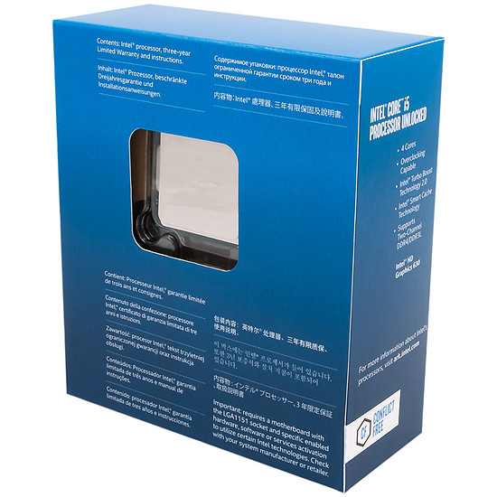 Processeur Intel Core i5 7600K - Autre vue