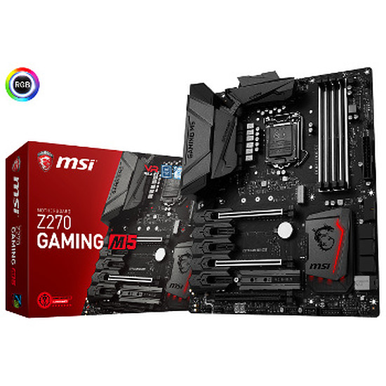 Carte mère MSI Z270 GAMING M5