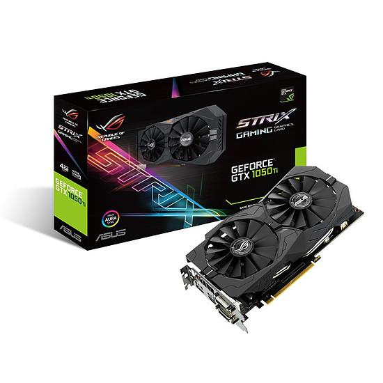 Carte graphique Asus GeForce GTX 1050 Ti STRIX Gaming - 4 Go