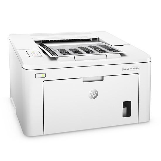 Imprimante laser HP LaserJet Pro M203dn - Autre vue
