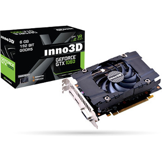 Carte graphique Inno3D GeForce GTX 1060 6 Go Compact