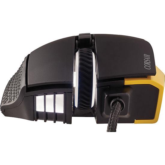 Souris PC Corsair Scimitar Pro RGB - Jaune - Autre vue