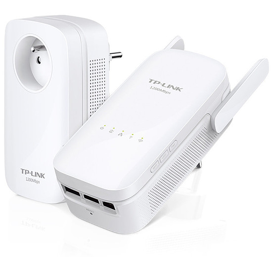 CPL TP-Link TL-WPA8630 KIT (FR) - Pack 2 CPL1200 / WiFi AC1200