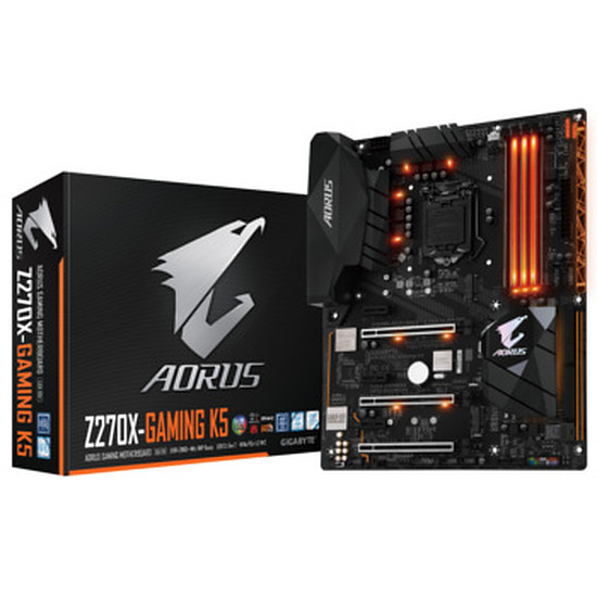 Carte mère Gigabyte AORUS - GA-Z270X-Gaming K5
